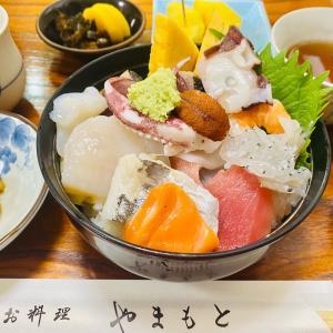 【美味しいおおた@蒲田本町『お料理やまもと』売り切れ必須の海鮮丼❗️で元気をチャージ♪】