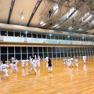 八尾 空手 道場稽古 月曜日 11月18日