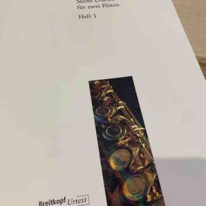 W.F.Bachの二重奏曲