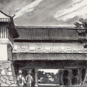 佐賀宿~牛津宿(3-2) 佐賀県 Saga to Ushizu, Saga pref.
