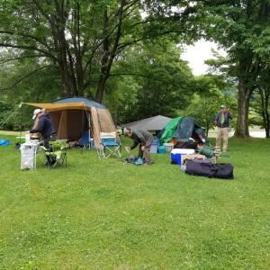かなやま湖キャンプ