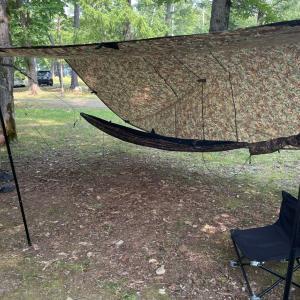 真夏のキャンプ