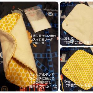 生理用ナプキンと月経について学んだのちに布ナプキンを手作りする講座に行って来ました