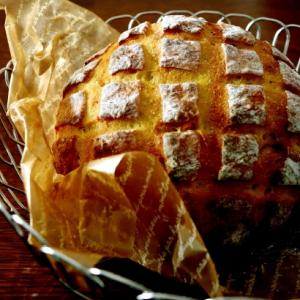 練習パン・・かぼちゃのブール♪