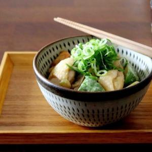かんたん夏ランチ・・チキンとアボカドの山葵醤油マヨ丼♪