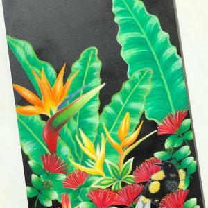 【ハワイの花と鳥のお話】