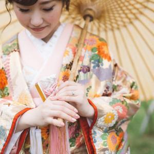 かわいい花嫁さまの和装前撮りレポ@三渓園