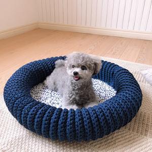 掲載本のお知らせ「お揃いで作りたい 手編みのわんこ服」