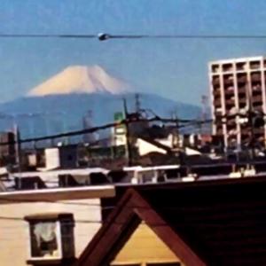 富士山は、やっぱ雪が似合うね!