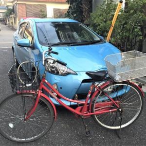 初めての自転車出勤。