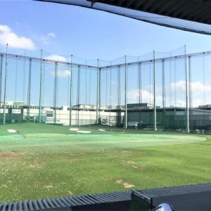 ゴルフ練習に行ってきました。