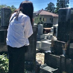 お墓詣りに行って来ました。