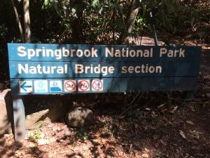 Natural Bridgeへ行ってきました