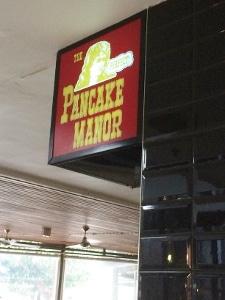 ランチ@Pancake Manor