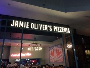 ディナー@Jamie Oliver's Pizzeria