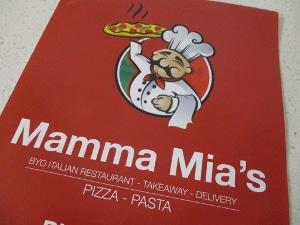 Takeawayディナー Mamma Mia's