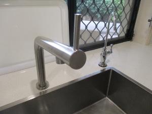 IKEAのキッチンTap 水はねの問題・その1