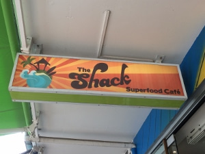 ランチ@the Shack Superfood Cafe