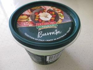 Burrataチーズを買ってみました