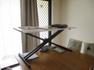 DIYで立ち机