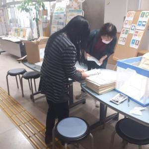 松山市、小中学校にお届け!