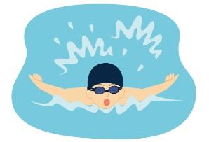 水泳大会のタイム・・・どうだったかな?
