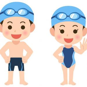 現役高校生競泳水泳部、大会前にご来院