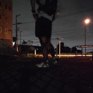☆20190820通勤ラン&帰宅ラン☆