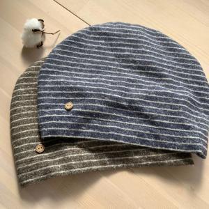 医療用帽子niko* 秋冬物新作帽子