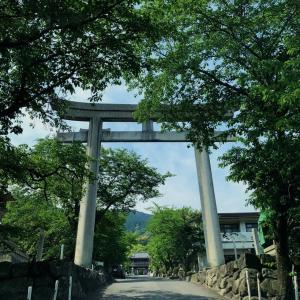 四国パワースポット「石鎚神社」に 『令和の初詣』