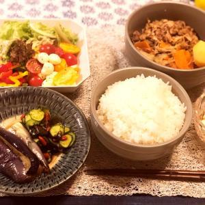 ある日の食卓と滋賀県彦根市のカフェvokkoさん