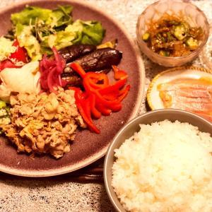 蕎麦 斐川さんとある日の食卓8.25