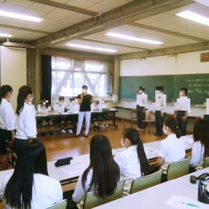 高校生へのガイダンス再開しています