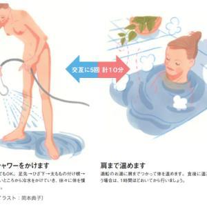 夜寝るときも足が冷たくつらい人の入浴法