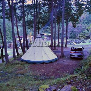 TC製テントはPVCより本当に優れているのかと考えてみた