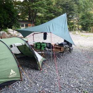 平日キャンプの幸せと冒険はとなりのサイトにもたぶん優しい