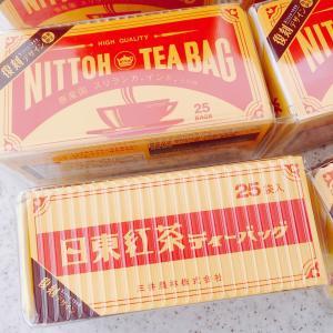 ☆モラタメ 日東紅茶 ティーバッグ 復刻デザイン