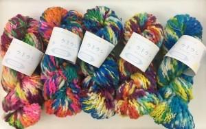 ウミウシの糸