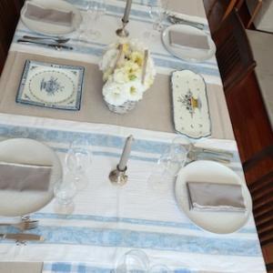 【秋のレッスン:ノルマンディー地方のテーブルと料理】