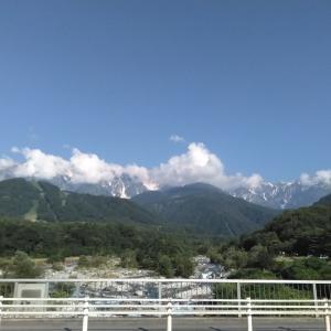 久しぶりに白馬岩岳へ。