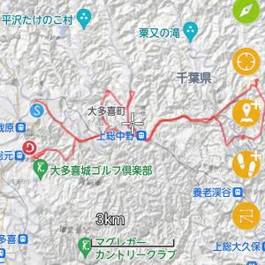 千葉県の公認MTBコース。  大多喜学園