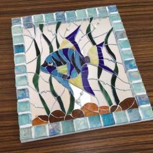 熱帯魚のモザイク