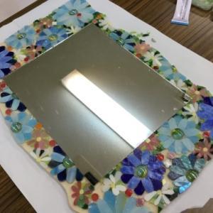 Iさんのモザイクの鏡