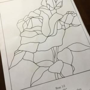 薔薇のデザイン
