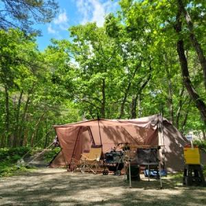 晴れ満喫な温泉キャンプ