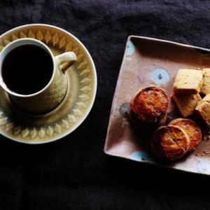 カフェの焼き菓子と、その後の曲げわっぱ