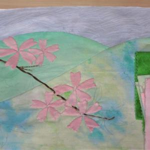 桜 製作途上