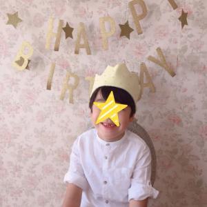 長男のお誕生日☆