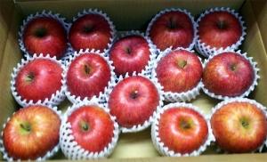 お客様から頂いたリンゴ!