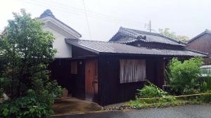 梅雨時の庭
